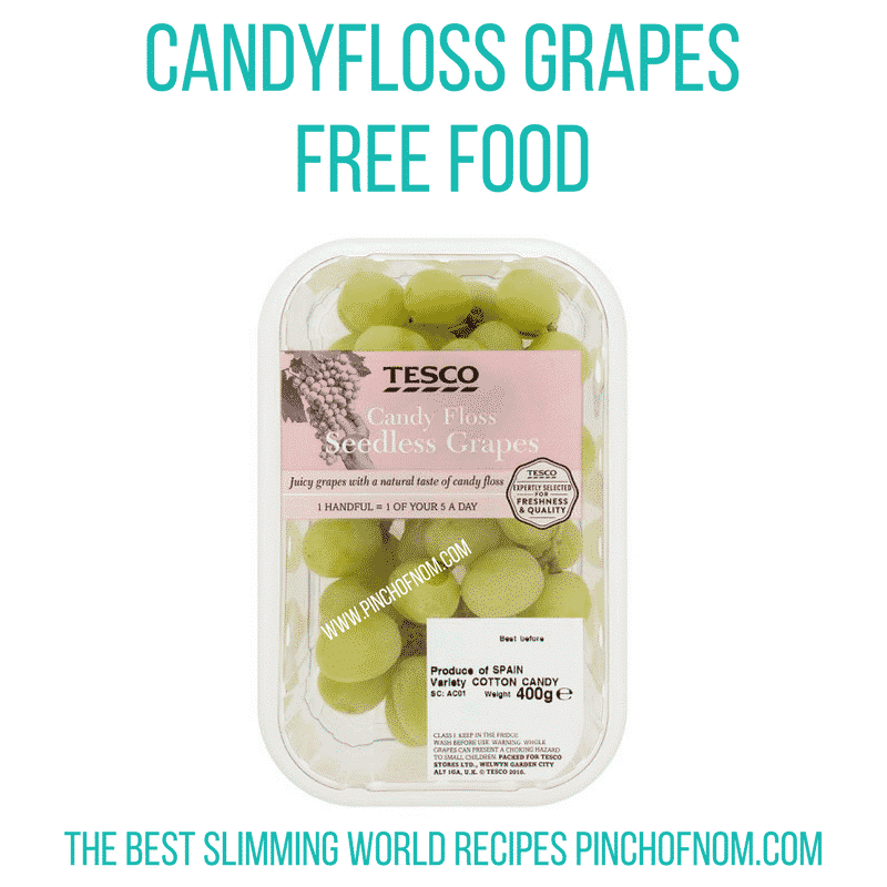 candyfloss grapes - free food - new slimming world essentials - pinch of nom
