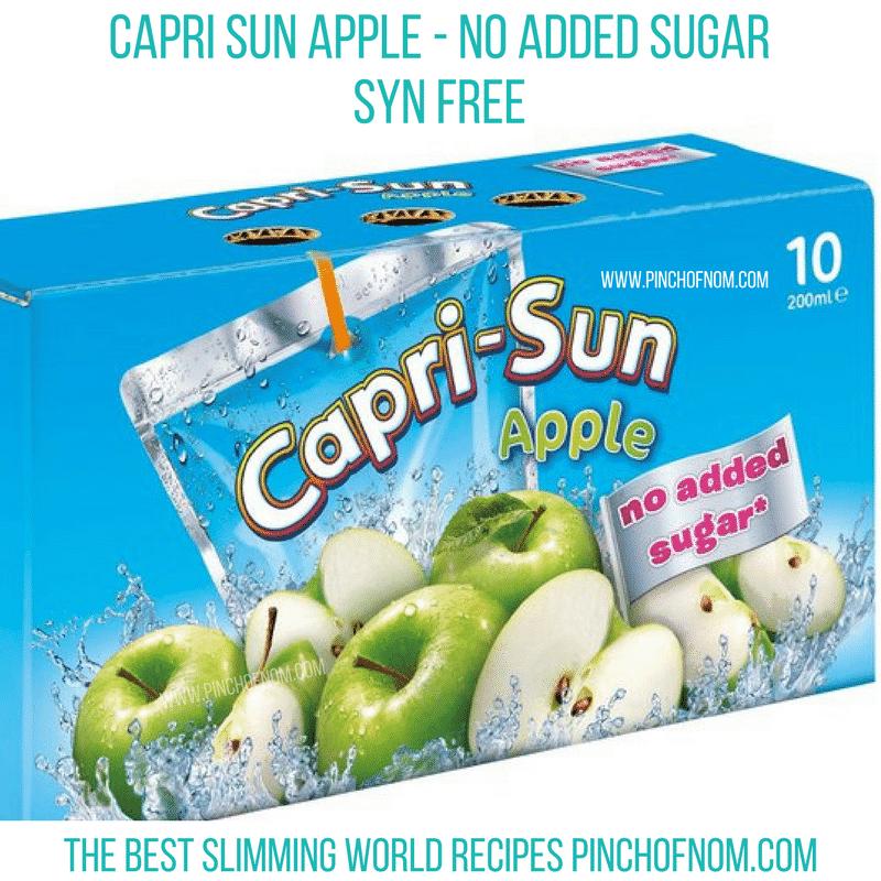 caprisun apple slimming world new shopping essentials pinch of nom