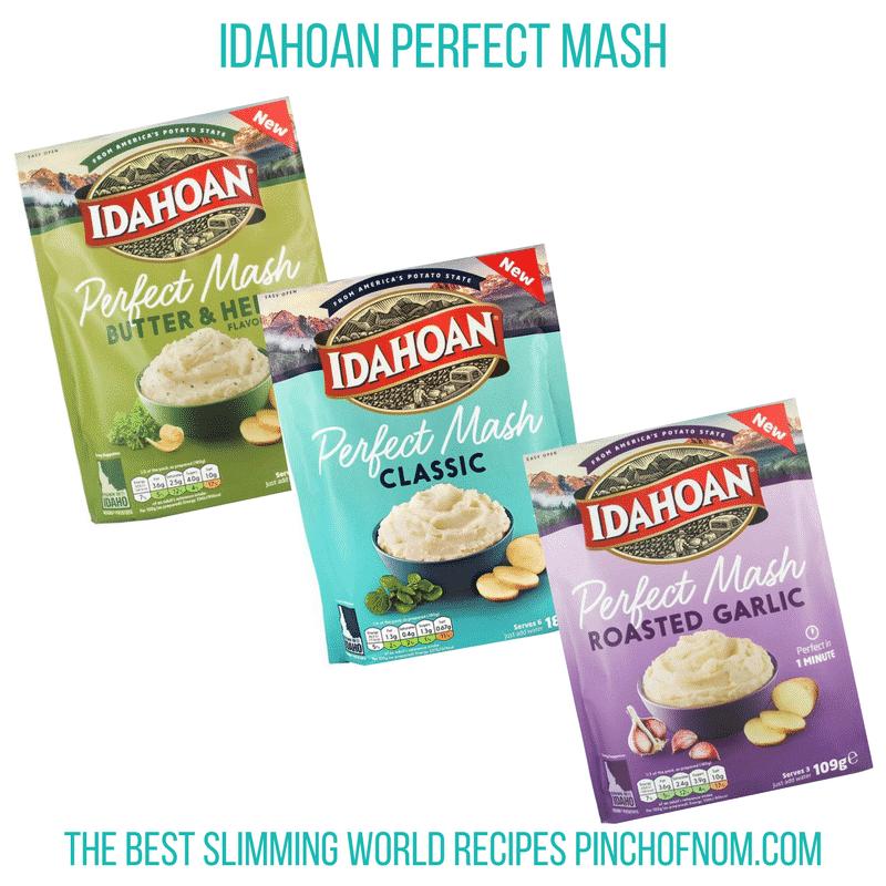 idahoan mash - main - pinch of nom - slimming world shopping essentials