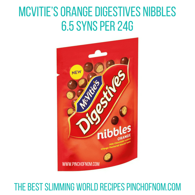 mcvities nibbles new slimming world essentials - pinch of nom