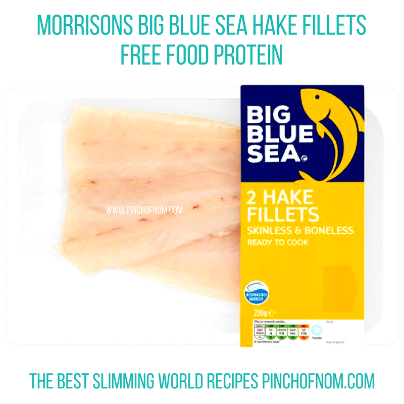 morrisons hake fillets slimming world new shopping essentials pinch of nom