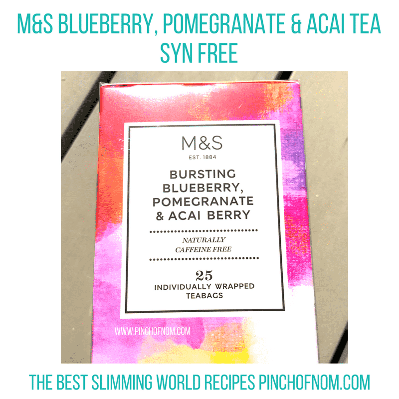 m&s fruit tea slimming world new shopping essentials pinch of nom