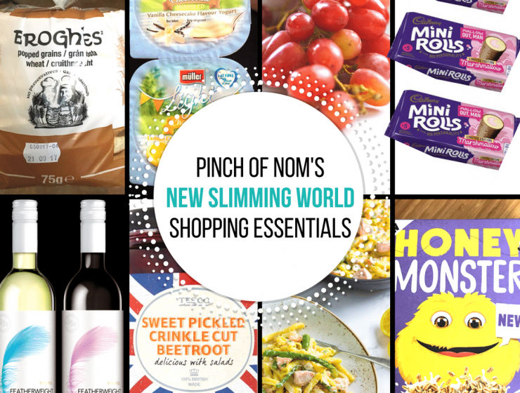 new slimming world shopping esseintials - pinch of nom