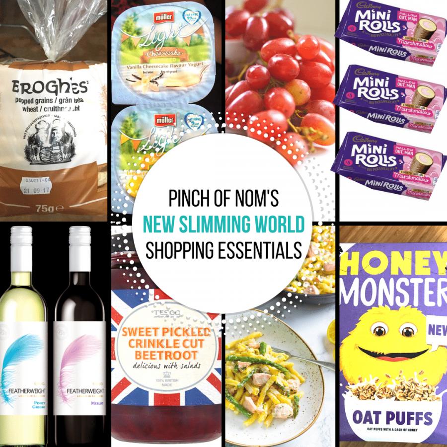 new slimming world shopping esseintials - pinch of nom