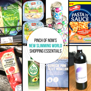 new slimming world shopping essentials pinch of nom