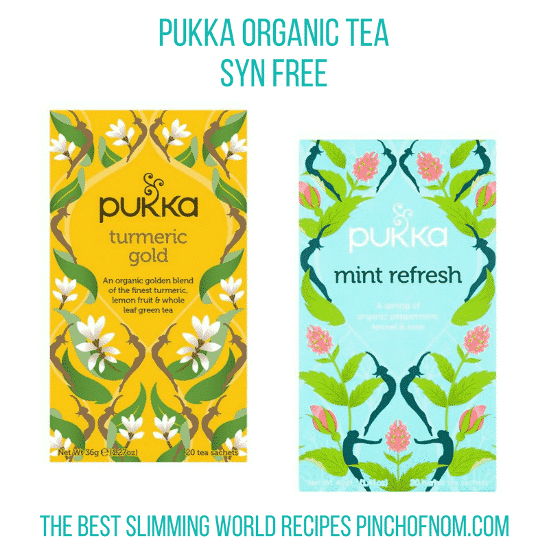 pukka organic teas new slimming world essentials - pinch of nom