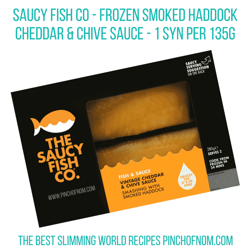 saucy fish co smoked haddock new slimming world essentials - pinch of nom