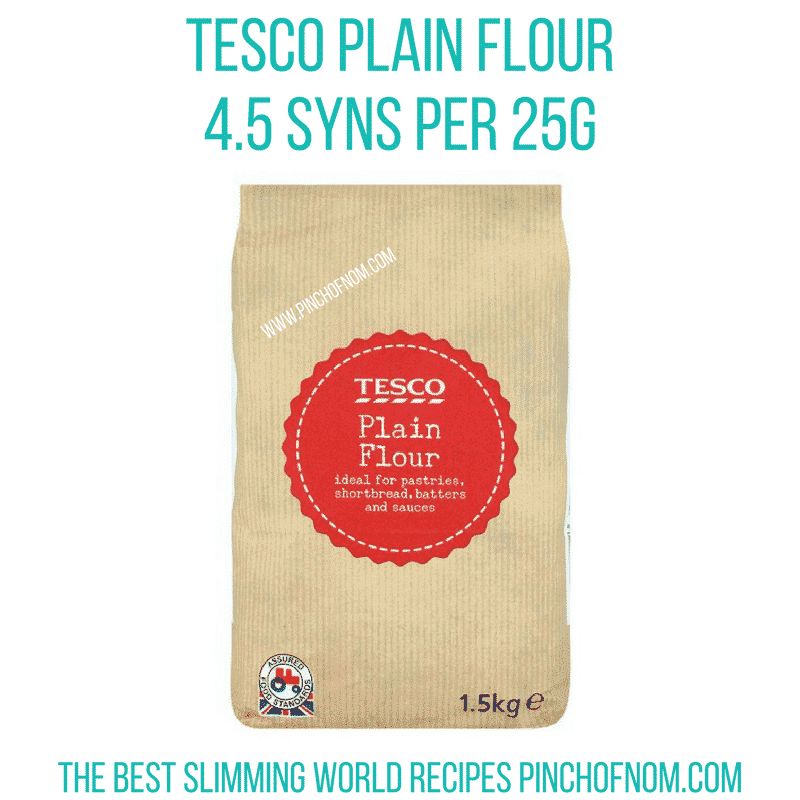 tesco flour-syns-pinch of nom - slimming world - Low Syn Yorkshire Pudding Wrap recipe