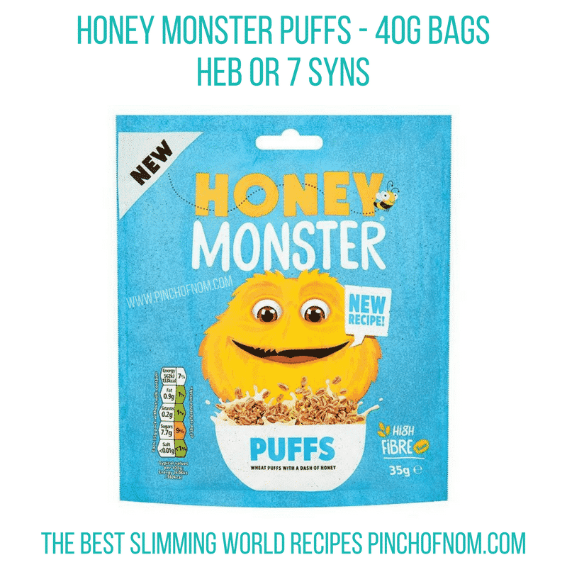 honey monster - - New Slimming World Shopping Essentials pinch of nom