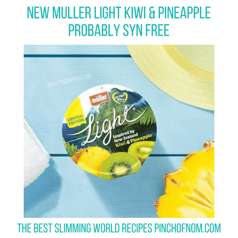 muller light kiwi - New Slimming World Shopping Essentials pinch of nom