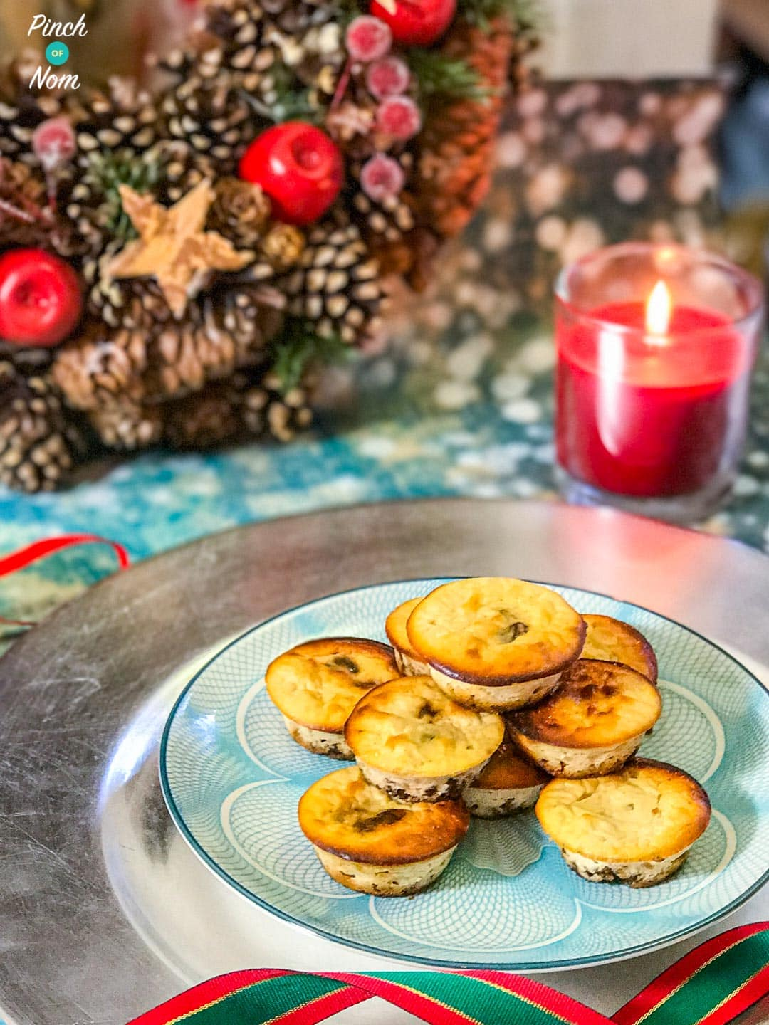 Mini Christmas Cheesecakes Pinch Of Nom Slimming Recipes