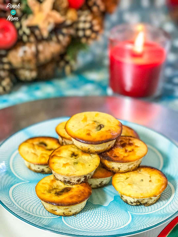Mini Christmas Cheesecakes | Slimming & Weight Watchers Friendly