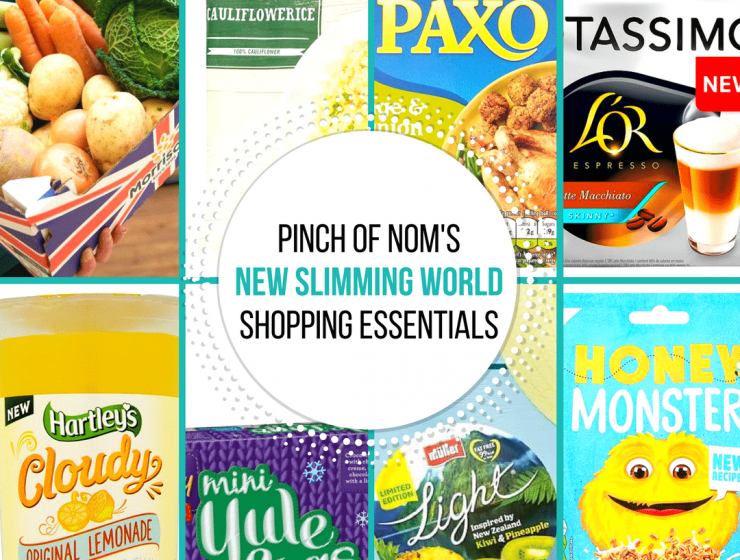 New Slimming World Shopping Essentials pinch of nom-29:9