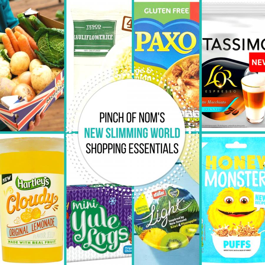 New Slimming World Shopping Essentials pinch of nom-29:9
