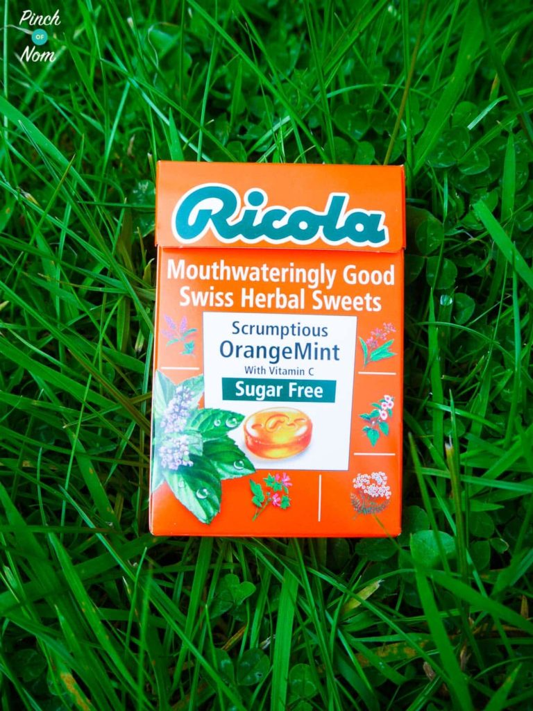 Ricola Sugar Free Swiss Herbal Sweets | Slimming World Orange Mint