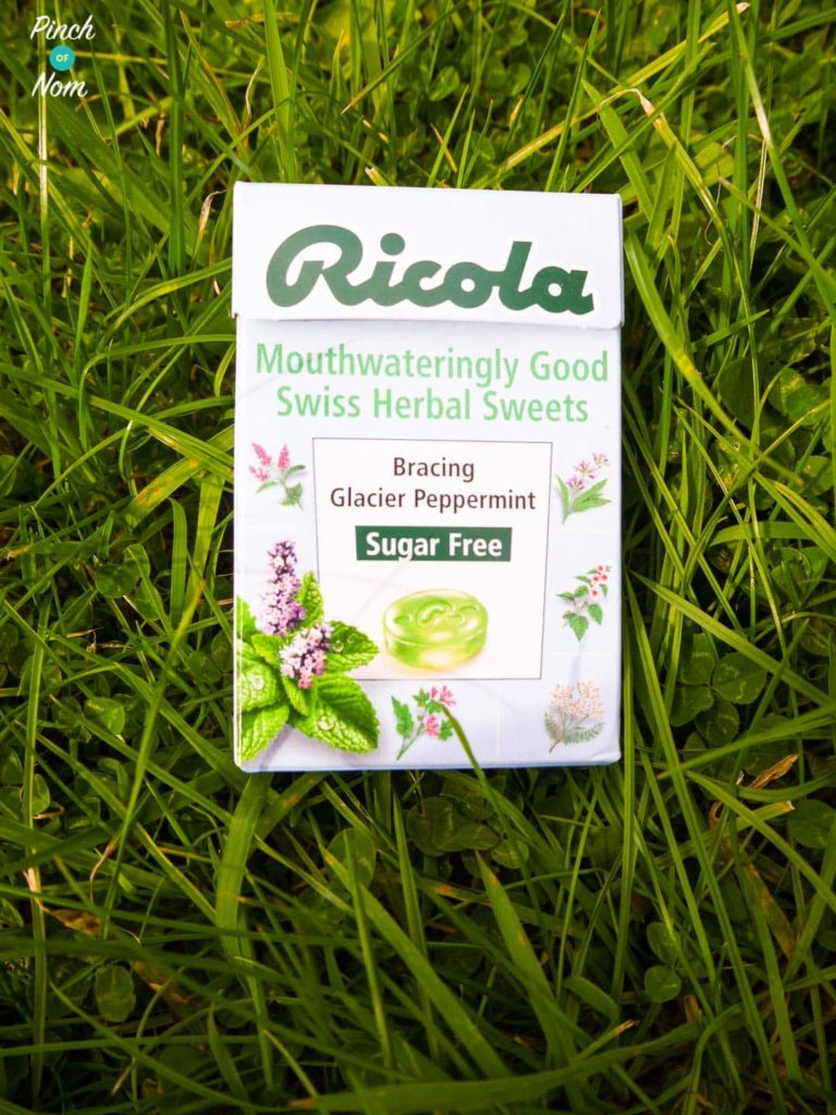 Ricola Sugar Free Swiss Herbal Sweets | Slimming World Glacier Mint