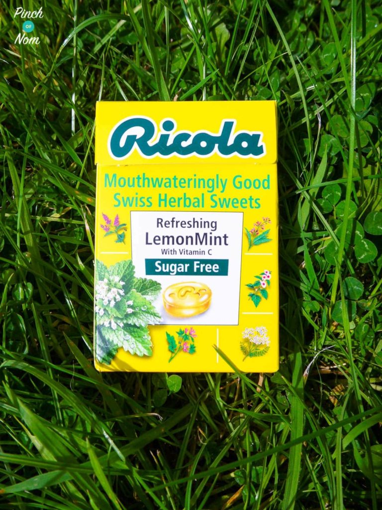 Ricola Sugar Free Swiss Herbal Sweets | Slimming World Lemon Mint