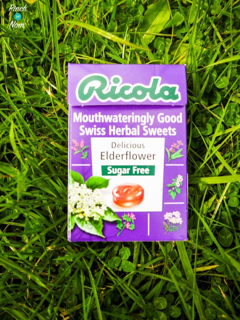 Ricola Sugar Free Swiss Herbal Sweets | Slimming World Elderflower