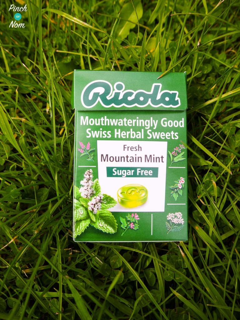 Ricola Sugar Free Swiss Herbal Sweets | Slimming World Fresh mountain mint