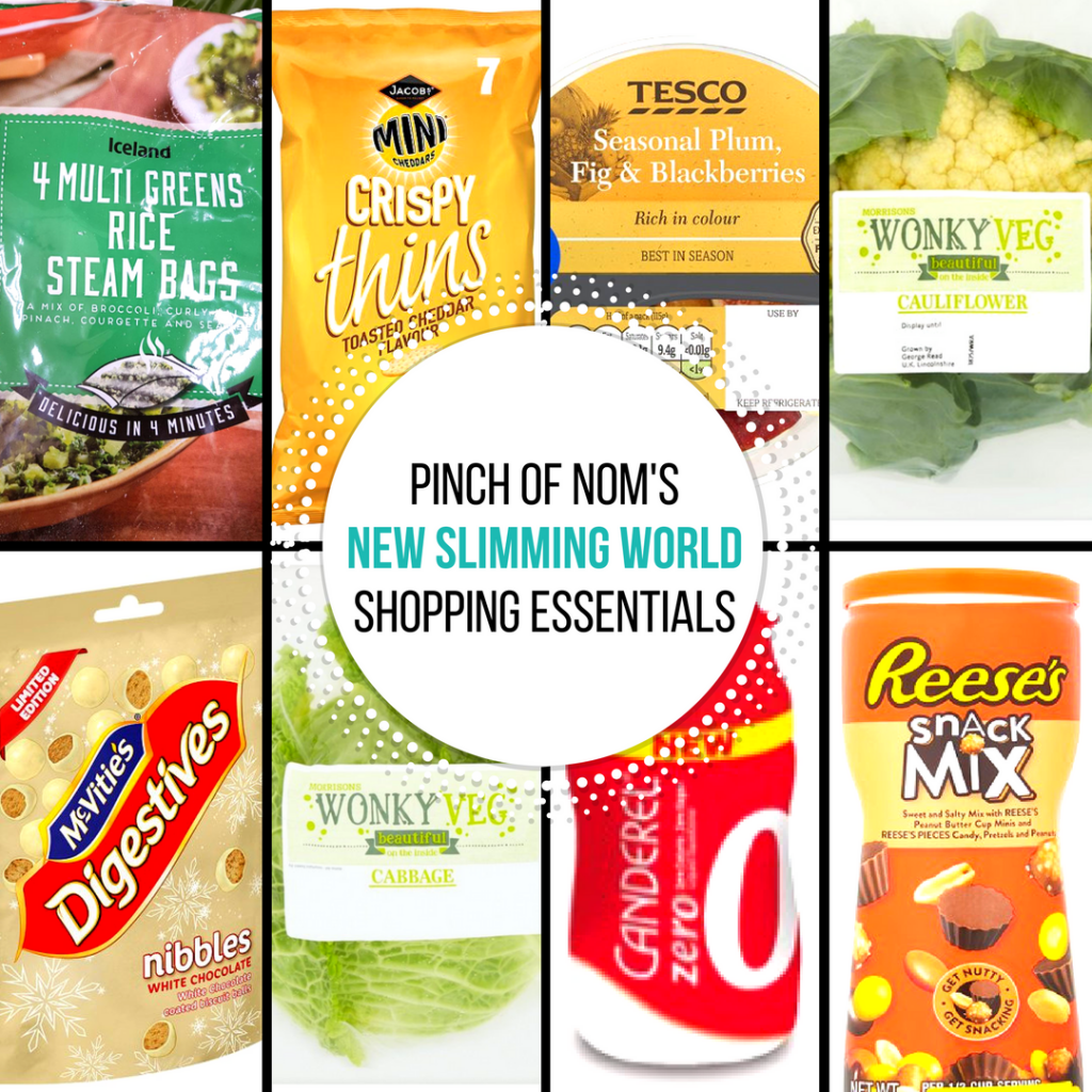 September 15 17 - pinch of nom new slimming world shopping essentials