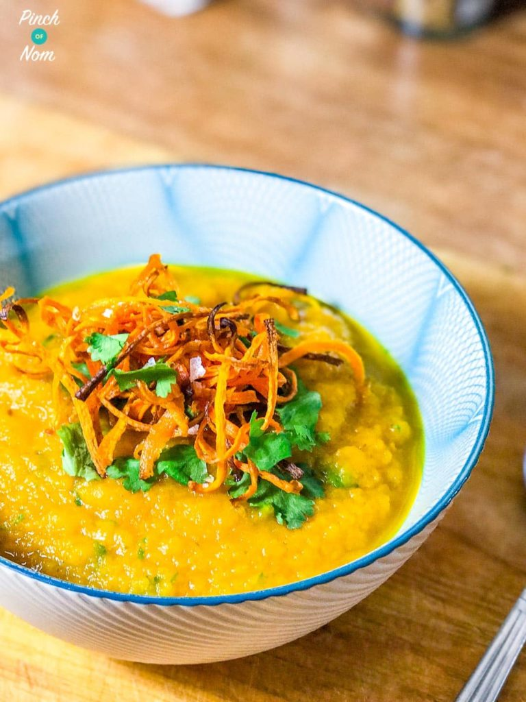 Syn Free Carrot and Coriander Soup | Slimming World-1