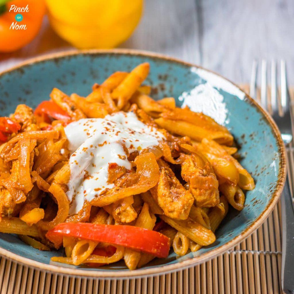 Syn Free Chicken Fajita Pasta   Slimming World-5