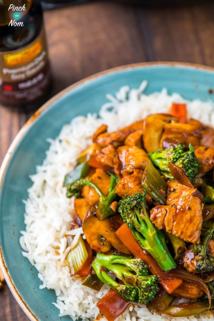 Chinese Chicken and Broccoli | Slimming & Weight Watchers Friendly
