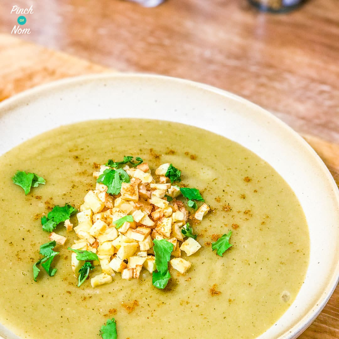 Curried Parsnip Soup | Slimming & Weight Watchers Friendly