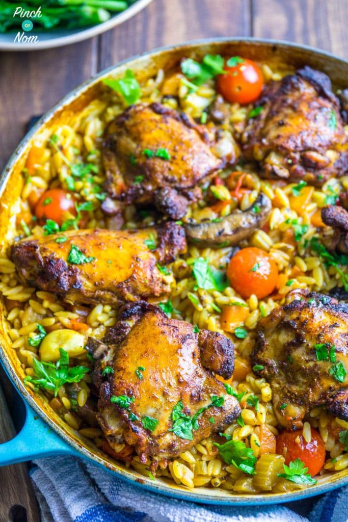 Syn free one pot mediterranean chicken orzo slimming world pinch syn free one pot mediterranean chicken orzo slimming world 8 forumfinder Images