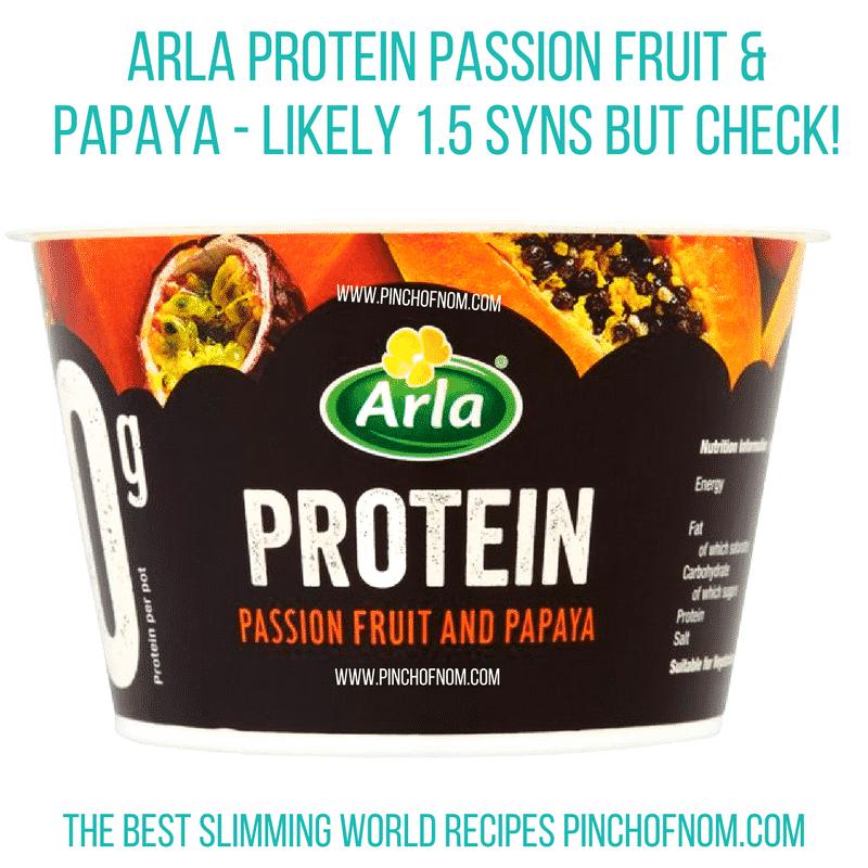 arla protein - pinch of nom new slimming world shopping essentials
