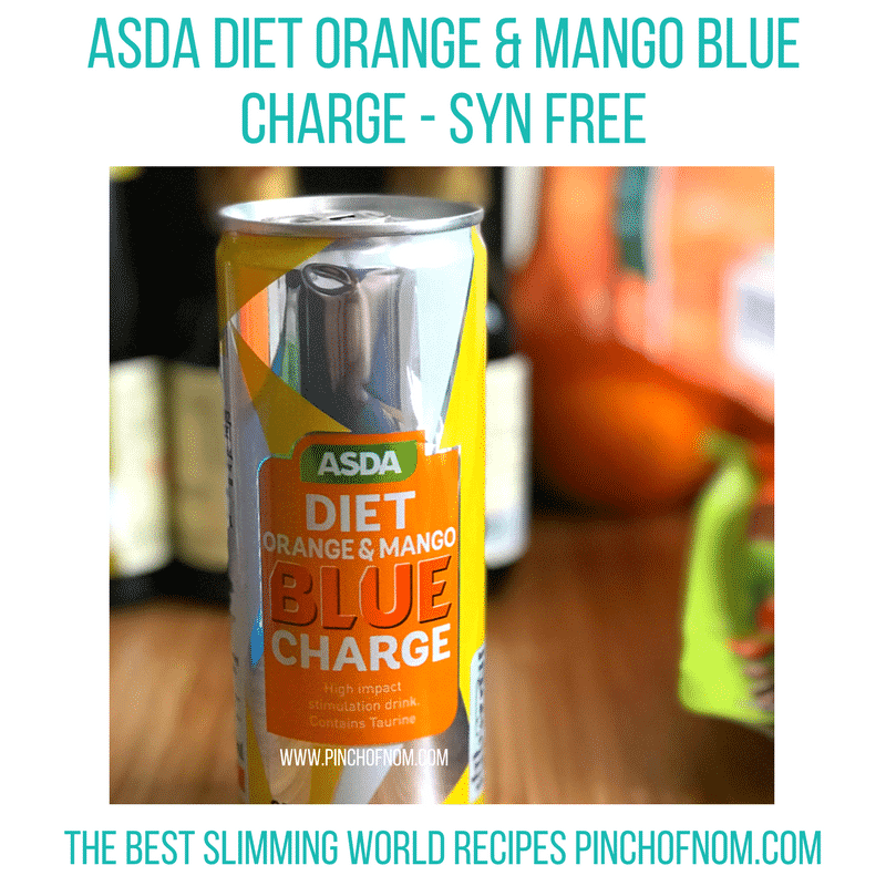 asda blue charge - pinch of nom new slimming world shopping essentials
