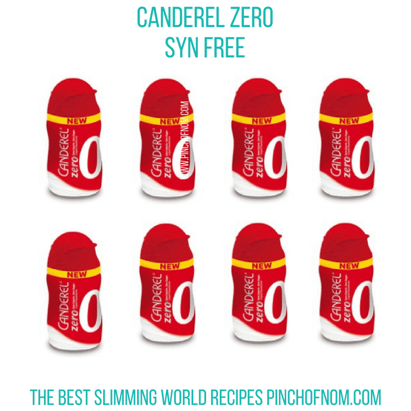 canderel zero - first slimming world shop