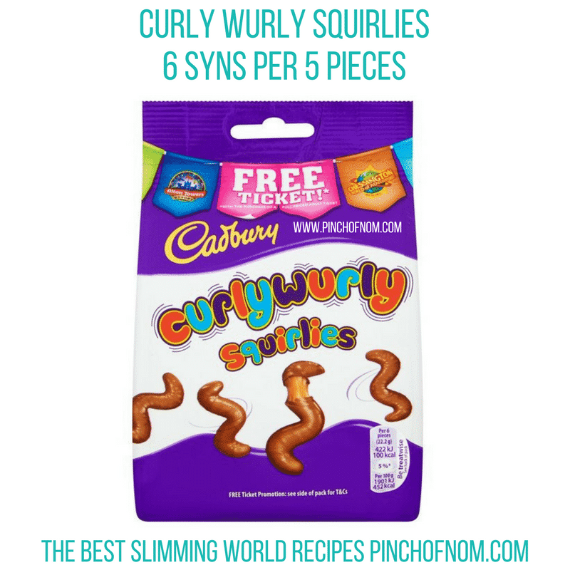curly wurly squirlies - pinch of nom new slimming world shopping essentials