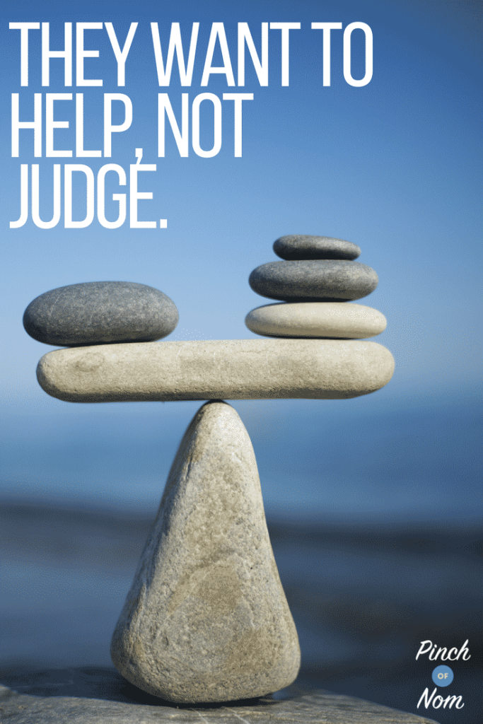 help not judge - What to Expect at a Slimming World Group - A Pinch Of Advice