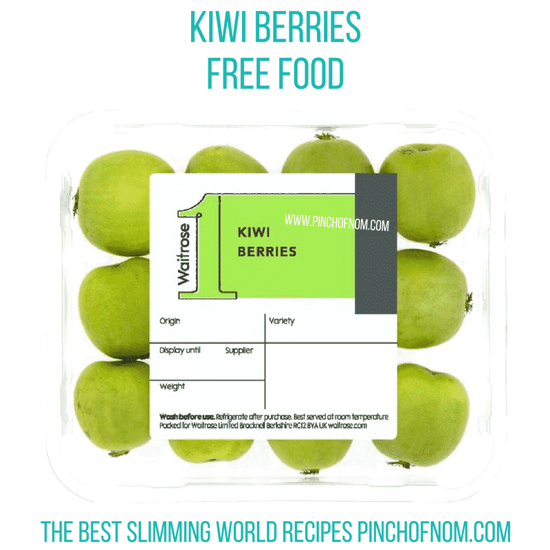 kiwi berries - pinch of nom new slimming world shopping essentials