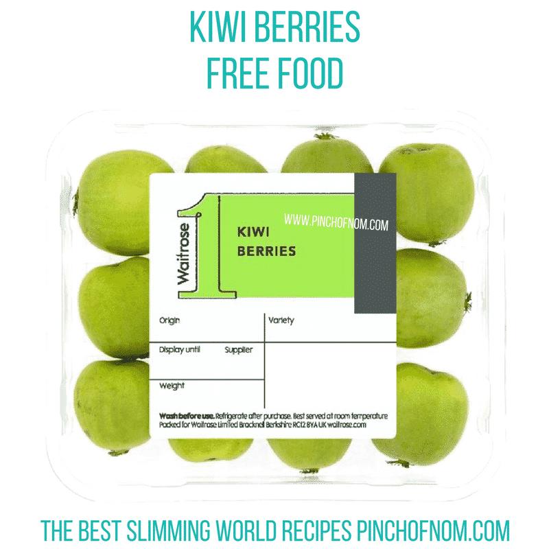 kiwi berries - pinch of nom new slimming world shopping essentials