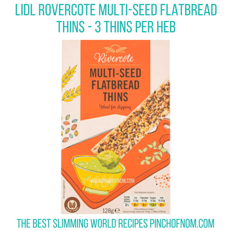 lidl flatbreads seeded - pinch of nom new slimming world shopping essentials