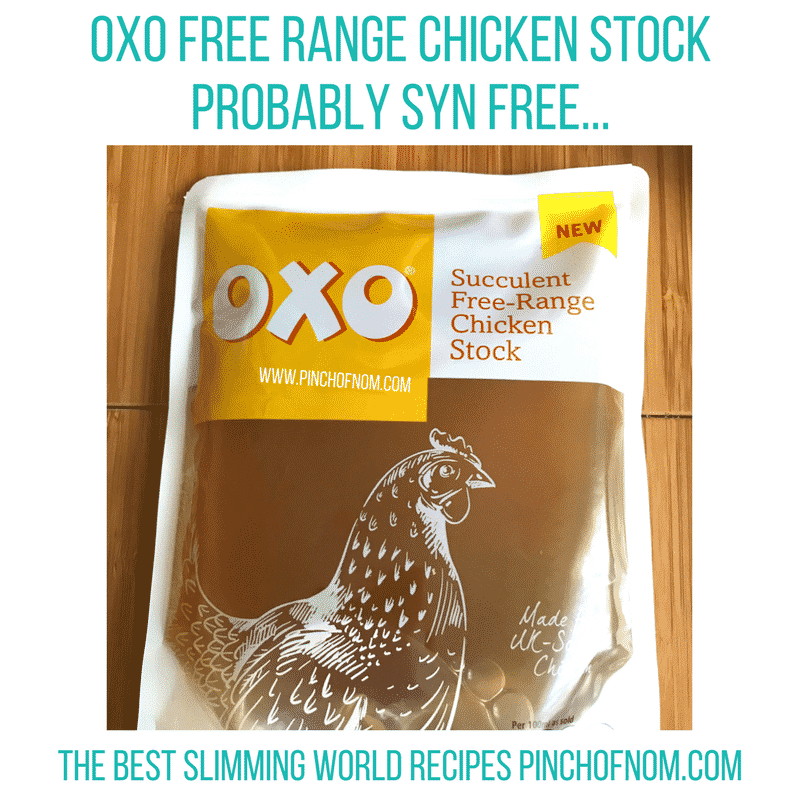 oxo chicken stock - pinch of nom new slimming world shopping essentials