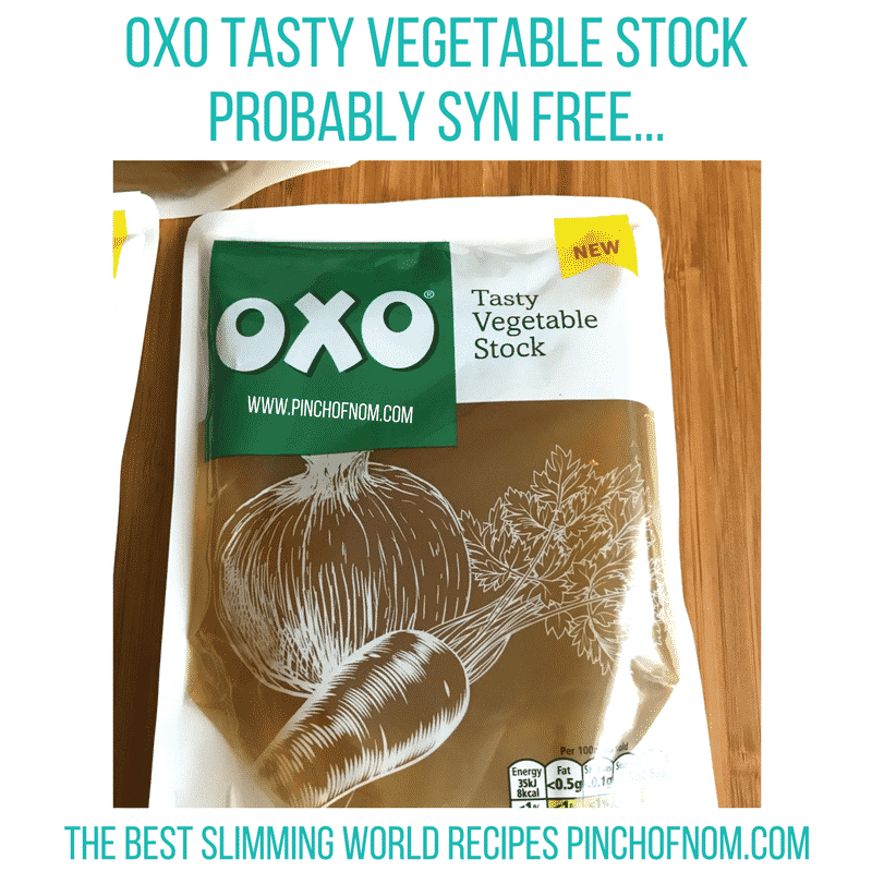 oxo veg stock - pinch of nom new slimming world shopping essentials