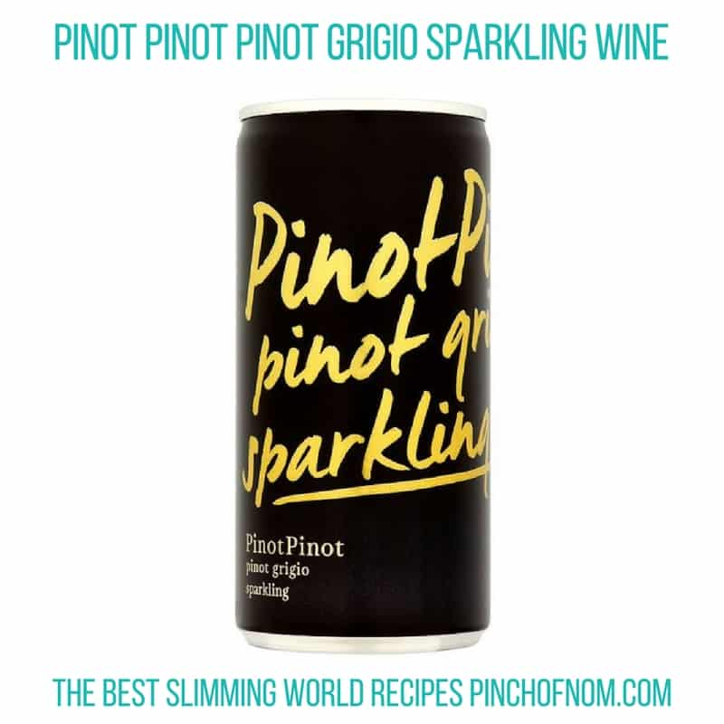 pino grigio sparkling - New Slimming World Shopping Essentials pinch of nom