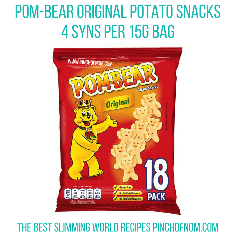 pombears - pinch of nom new slimming world shopping essentials