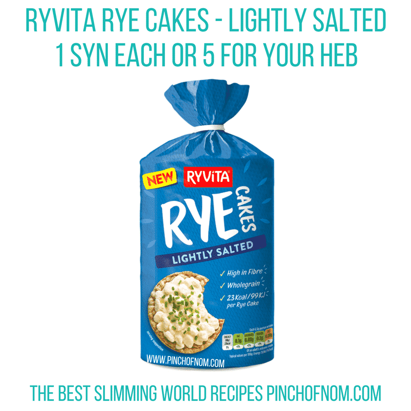 ryvita rye cakes - watermelon plums - pinch of nom new slimming world essentials