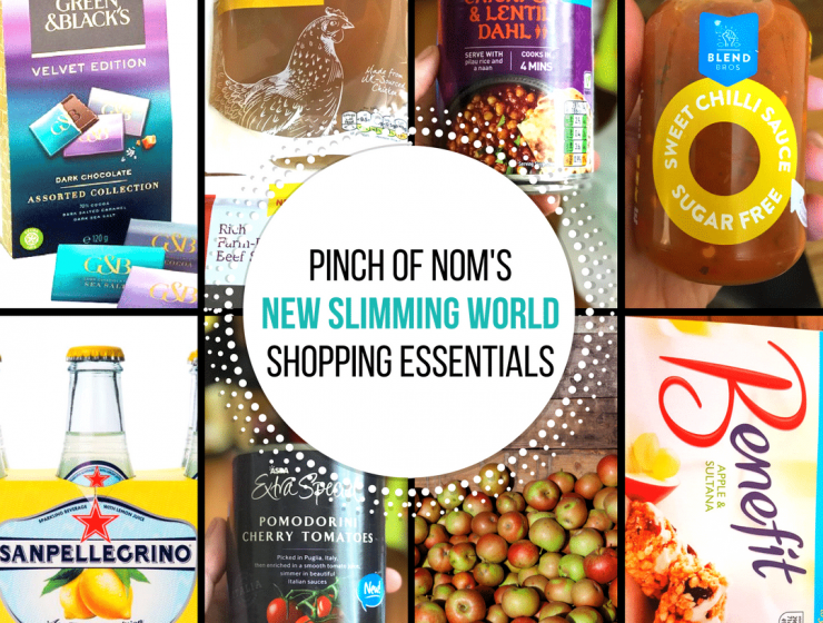 september - pinch of nom new slimming world shopping essentials