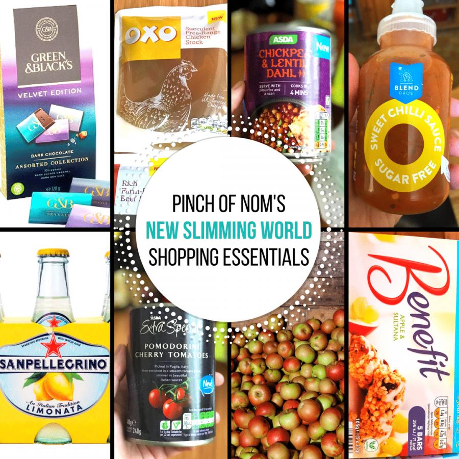 september - pinch of nom new slimming world shopping essentials