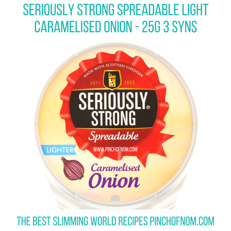 seriously strong spreadable - pinch of nom new slimming world shopping essentials