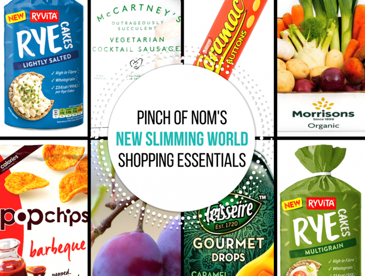 shopping - pinch of nom new slimming world essentials