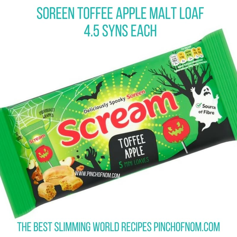 soreen apple malt loaf - New Slimming World Shopping Essentials pinch of nom