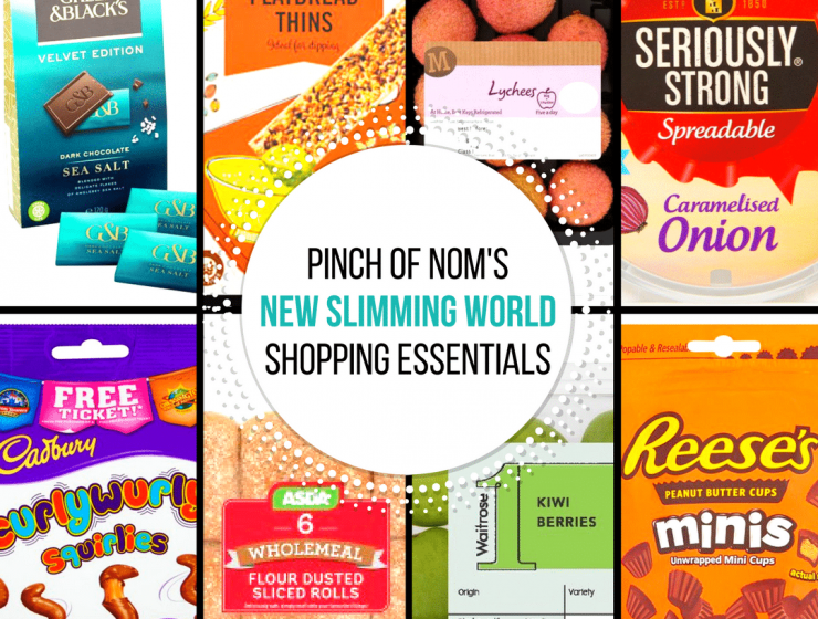 pinch of nom new slimming world shopping essentials