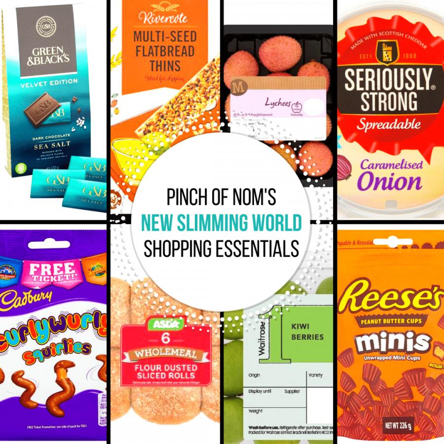pinch of nom new slimming world shopping essentials
