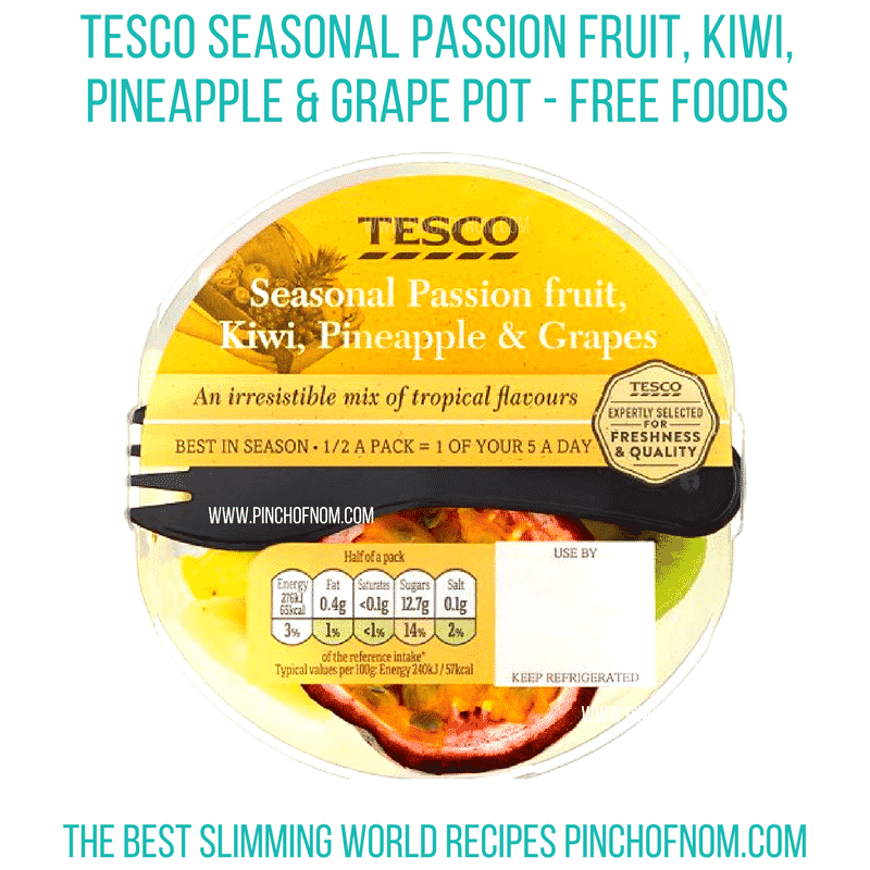 tesco seasonal fruit bowl - pinch of nom new slimming world shopping essentials